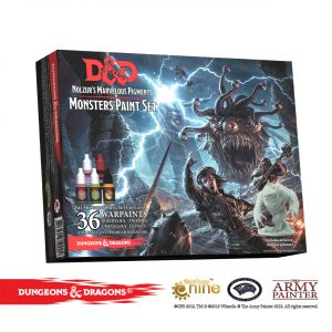 Dungeons & Dragons Nolzur`s Marvelous Pigments: Monster Paint Set